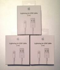 3X - OEM Original Lightning USB Charger Cable For Apple iPhone 6 6s 7