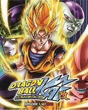 DVD Dragon Ball KAI Complete Vol. 1-167 end Anime Boxset ENGLISH Version