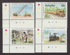1985 Nauru Phosphate Set Unmounted Mint SG322/325