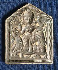 Antique Tibetan Bronze Mold Handmade Carved Rare [AH202]