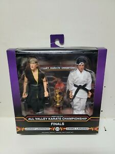 NECA The Karate Kid 1984 Daniel and Johnny Clothed Action Figures Tournament