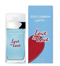 Dolce & Gabbana D&G Light Blue Love is Love 100 ml EdT Spray NEU OVP