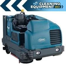 Reconditioned Tennant M20 propane powered rider sweeper/scrubber