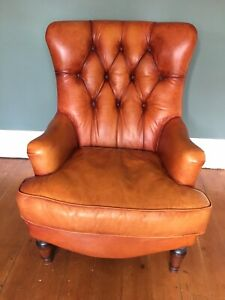 Fabulous Tetrad Leather Chair From John Lewis