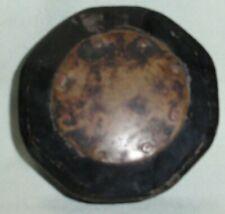 New listing Antique Georgian Copper Top Octagon Snuff Box