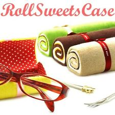 New Roll cake-type glasses case megane Choose Pattern From Japan
