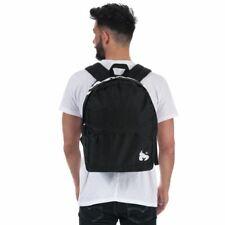 Mens Money Black Label Back Pack in Black
