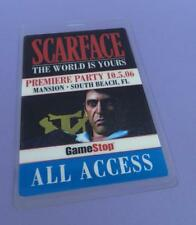 Scarface The World Is Yours Video Game Premiere Party ALL ACCESS Pass 2006