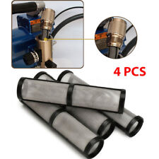 4Pcs Black Airless Spray Pump Filter 60 Mesh For 390/395/495/595 Sprayer