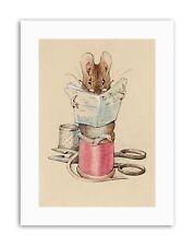 Helen Beatrix Potter Le tailleur Souris Poster Photo Toile Art Prints