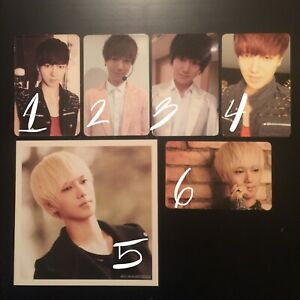 Yesung Super Junior KRY Sexy Free And Single Photocard