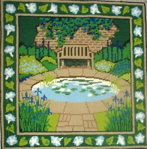 Ehrman Cross Stitch Complete Unframe Tapestry Picture Lily Pond