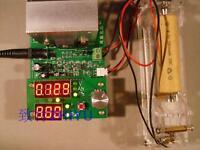 Constant current electronic load 9.99A 60W 1-30V battery capacity tester 12V 24V
