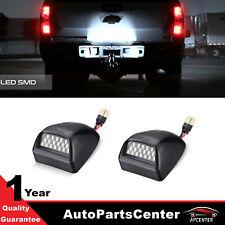 Led License Plate Light Assembly For 99 13 Chevy Silverado Gmc 1500 2500 3500