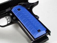 1911 Grips Full Size Ambi Safety Gladiator Blue Colt Kimber Springfield