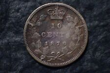 1870,   10 Cents,  Lot 01, Free shipping in Canada,   For your collection ?