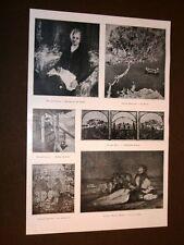 Venezia nel 1920 Esposizione arte Opere di Galli Discovolo Vallet Berta Amisani
