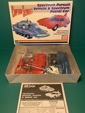 IMAI Captain Scarlet SPECTRUM PURSUIT VEHICLE SPV & PATROL CAR SPC Model Kit - B