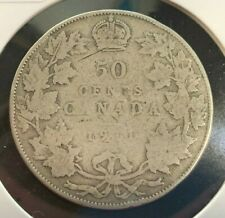 1911 Canadian 50 Cent Coin (C#3085)