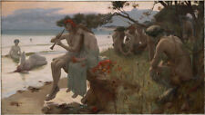 Rupert Bunny - Pastoral Giclee Canvas Print