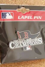 2013 World Series Champions Boston Red Sox pennant lapel pin MLB WS champs p