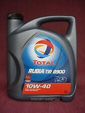 5 L Total Rubia Tir 8900 10W-40 Low Saps Olio Motore / MB 228.51 / Man 3477