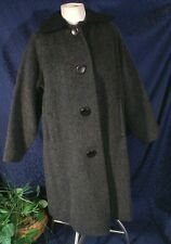 Vintage 60s MORNESSA England Wool & Mohair Coat Size S/M