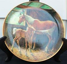 Vintage Franklin Mint Porcelain Pony Tales by Edward Bierly Décor Plate