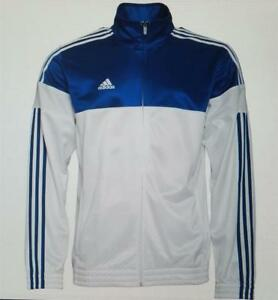 adidas mens 3 stripe warm up track top basketball jacket ai4701 new small to 4xl