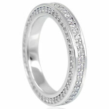 Ringe mit Zirkon-Sets (19,1 mm) Ø 60 Edelsteinen für Damen