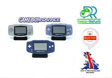 Nintendo Game Boy Advance Console GBA - AGB-001 Purple White Black & More