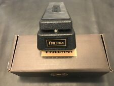 Friedman Gold 72 No More Tears Wah Pedal  New!