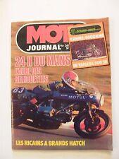 Moto Journal Avril 1978 N°361 24 heures du Mans Yamaha 500 SR