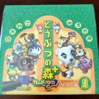 Nintendo Animal Crossing e Card Series 1 Collection Card Box 30 packs F/S