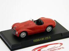 Ferrari 125 s año de construcción 1947 Scuderia rojo 1:43 Ixo Altaya