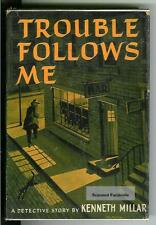 TROUBLE FOLLOWS ME by K Millar, rare US Dodd Mead 1st, hardcover in FACSIMILE DJ