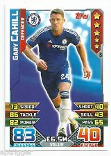 2015 / 2016 EPL Match Attax Base Card (59) Gary CAHILL Chelsea