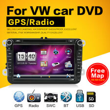 "8"" Autoradio GPS Navigation Sat Nav DVD Player Für VW PASSAT GOLF 5 6 POLO Caddy"