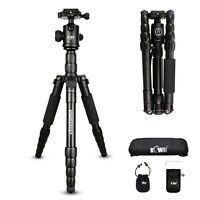 KIWI Portable Pro Tripod Monopod & Ball Head Compact Travel for Cameras camcords