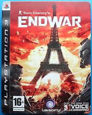 Tom Clancy's Endwar Steelbook - PS3 Playstation 3 - FREE 1st CLASS & FAST POST -
