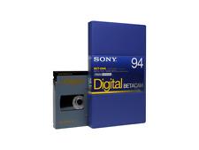 SONY BCT-D94L (large) DIGITAL BETACAM Profi Video Cassette NEU (world*) 000-580°
