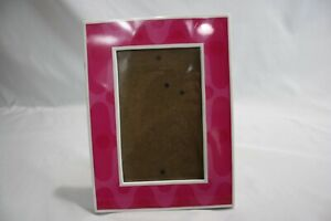 Harbortown Photo Frame 3.5 X 5.5 inches Pink Free Standing