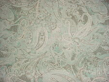 15Y Laura Ashley Portfolio Sandon Seamist Printed Linen Floral Upholstery Fabric
