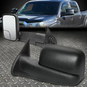 FOR 05-15 TOYOTA TACOMA POWERED+HEATED REAR SIDE VIEW TRAILER TOWING MIRROR PAIR