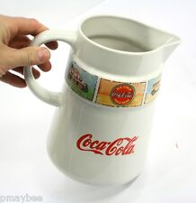 2-1/2 Qt. Pitcher Coca-Cola® Brand Dinnerware by Gibson® Dishwasher Safe CHINA