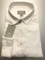 New Size 16 Women's White Oxford Cotton Classic Fit Shirt - PURE Collection