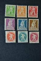Mint Hinged MH Stamp Germany 1920 Bayern Bavaria Farewell Series