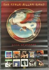 Steve Miller Book of Dreams 1977 PROMO POSTER