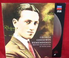 Laserdisc {p} * George Gershwin Remembered *