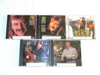 Lot of 5 Joe Diffie CDs Honky Tonk Attitude Third Rock Lifes Funny Another World